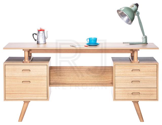 Josephine Scandinavian Style Furniture Office Desk Natural