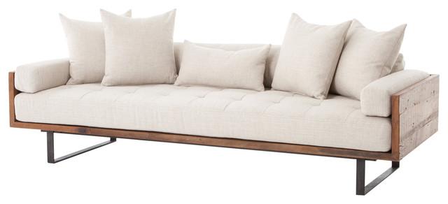 Pierce Sofa Linen Natural.