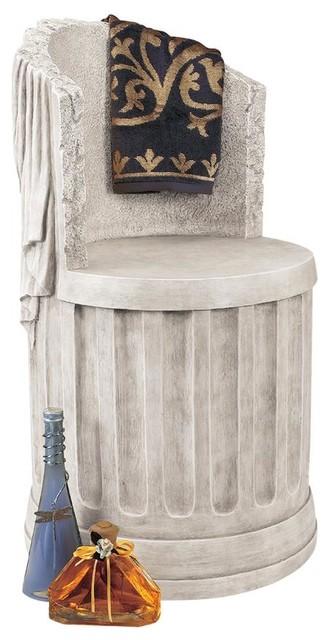 Baths Of Caracalla Spa Stool.
