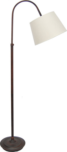 """Orlo Brushed Stainless Steel Finish Twin Light Floor Lamp 57.5""""tall"""