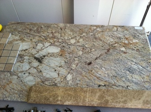 Sometimes you get lucky granite remnant for Granite remnant cost per square foot