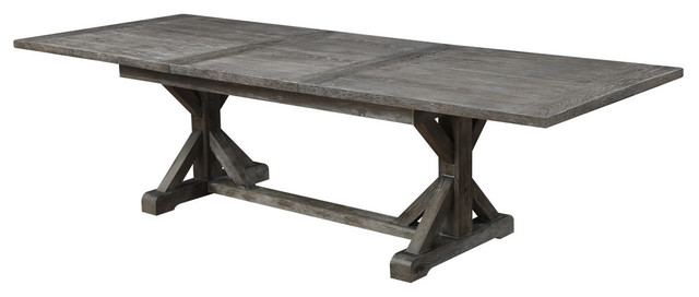 Emerald Home Paladin Extension Dining Table Traditional Dining Tables