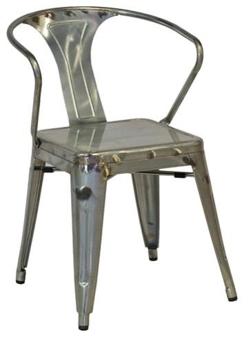 Sensational Modern Industrial Bastille Arm Chair Gun Metal Pdpeps Interior Chair Design Pdpepsorg