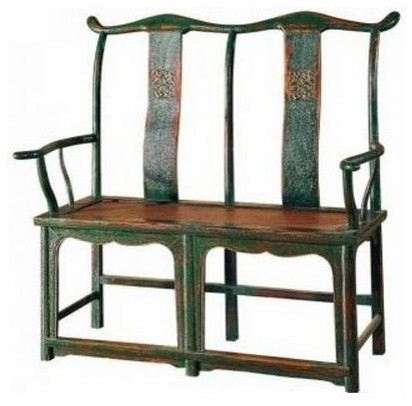 Artefac Antique Style Double Chair Armchairs And Accent