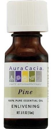 Aura Cacia, Essential Oil, Pine, 0.5 oz.