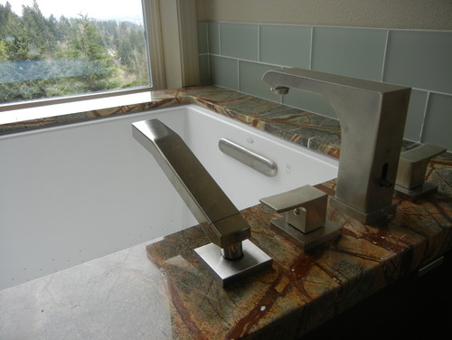 We are also using the kohler underscore with an undermount install. Ho