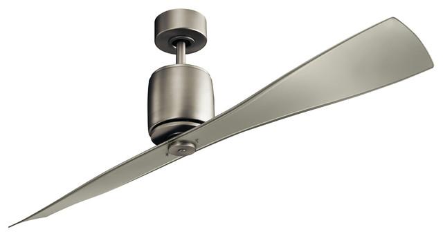 """60"""" Ferron Fan, Brushed Nickel"""