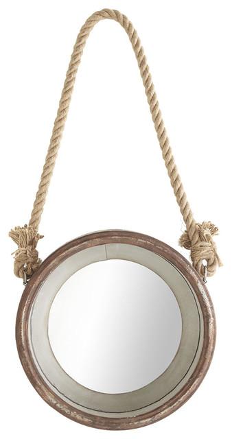 Hanging Porthole Mirror