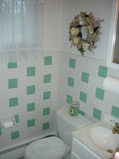 Painting bathroom tile vs. replacing. - Painting Bathroom Tile Vs. Replacing.....