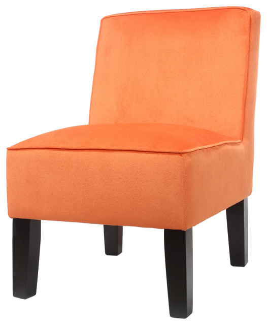 Tatum accent chair orange farmhouse armchairs and