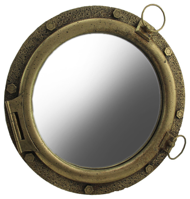 Port Hole Mirror.