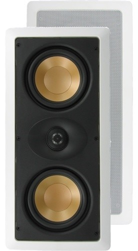 Dual Aluminum LCR Theater Speakers by InwallTech