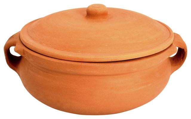 "Clay Curry Pot, Medium, 8""."
