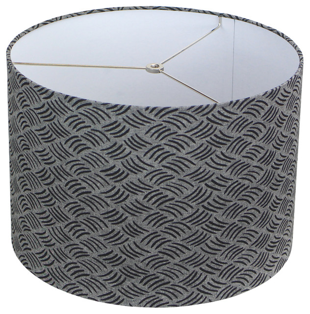 Maratodd Fabric Drum Lampshade 16 X16, Fabric Drum Lamp Shades