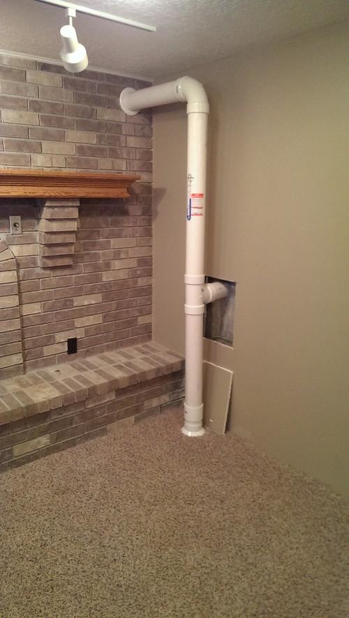 Radon System Eyesore Design Advice Please