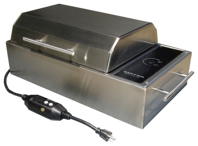 Kenyon Frontier All Seasons 240V Portable Electric Grill  Contemporary Outdoor Grills
