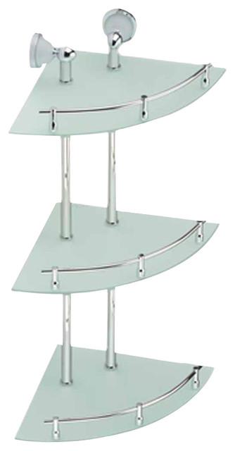 3 tier glass shelf bathroom | My Web Value