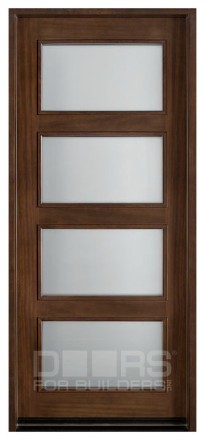 modern collection custom solid wood doors contemporary