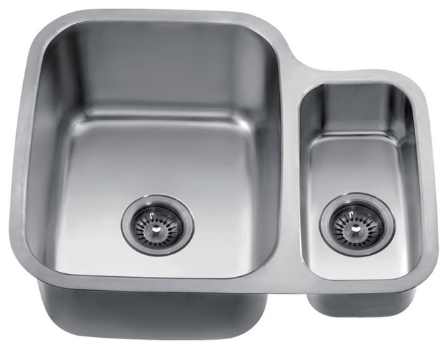 Dawn Kitchen and Bath - Dawn Undermount Double Bowl Sink, 25\
