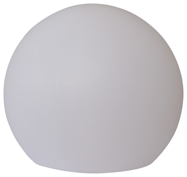 """16"""" Tall Large Multi-Color Led Lamp, Globe Shaped."""