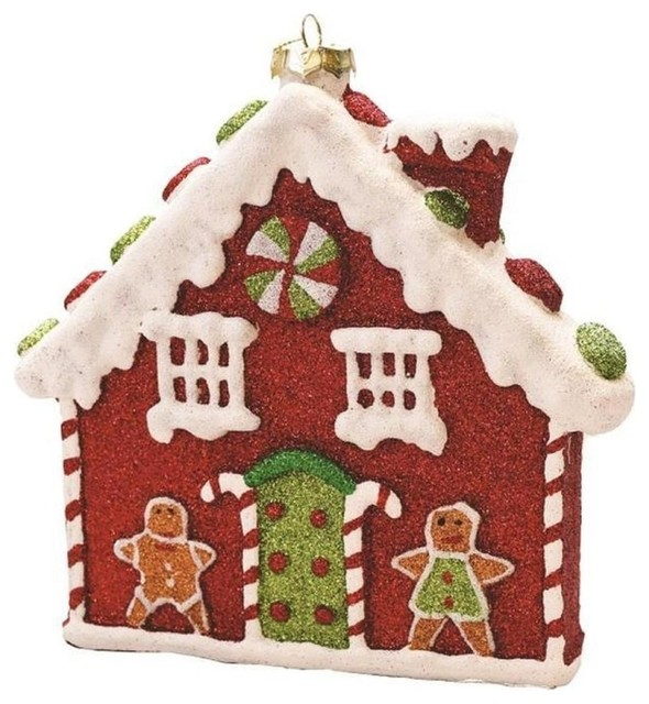 7 25 Merry And Bright Gingerbread House Christmas Ornament