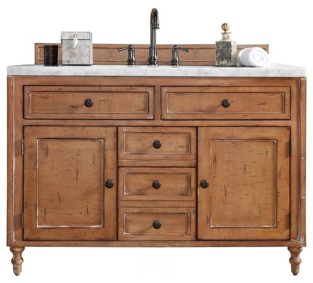 Driftwood Patina Vanity Farmhouse Bathroom Vanities And Sink Consoles By Luxury Bath