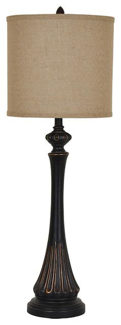 Berwick Table Lamp 38 Antique Bronze Finish