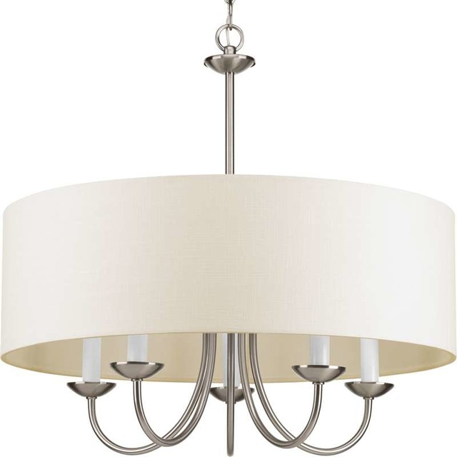 Progress lighting progress lighting p4217 09 5 light chandelier progress lighting 5 light chandelier brushed nickel traditional chandeliers aloadofball Image collections