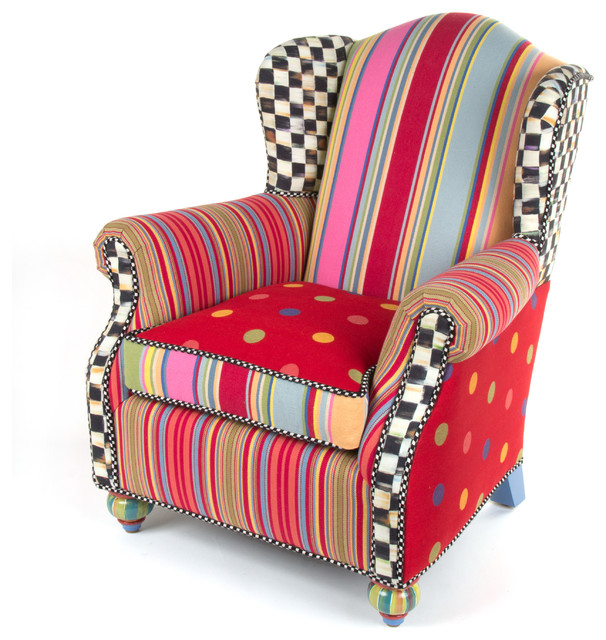 Good Wee Wing Chair | MacKenzie Childs Eclectic Kids Chairs