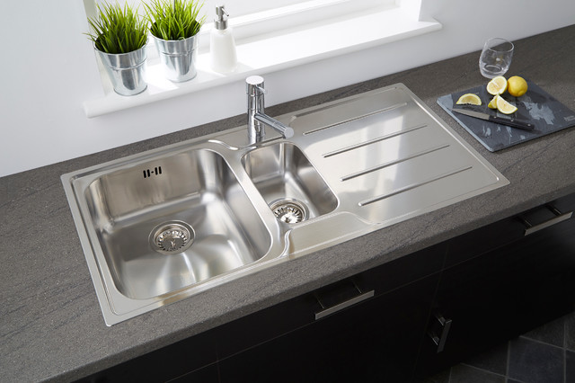 Plateau 1 5b Stainless Steel Low Profile Sink