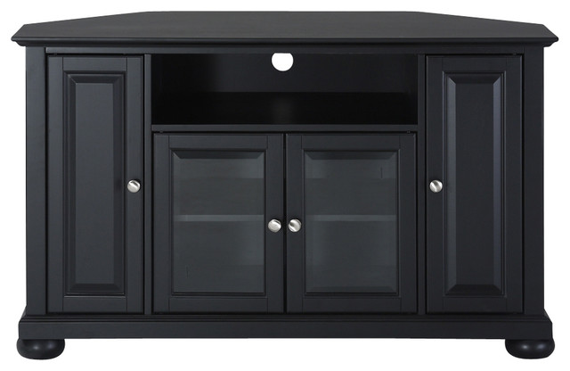 "Alexandria 48"" Corner TV Stand - Traditional - Entertainment Centers And Tv Stands - by Pot ..."
