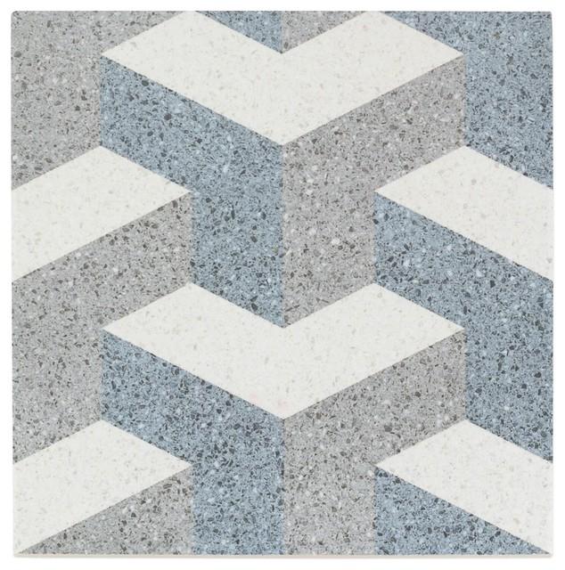 Branwell 9 X9 Porcelain Field Tile Corbusier