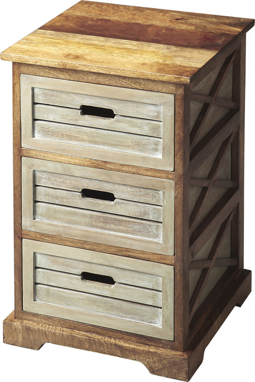 Hayden Modern Chairside Chest - Multi-Color