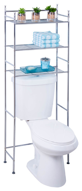 3-Tier Space Saver - Contemporary - Bathroom Cabinets And Shelves - by Honey Can Do