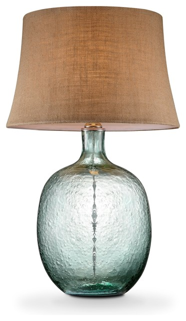 sea breeze glass table lamp