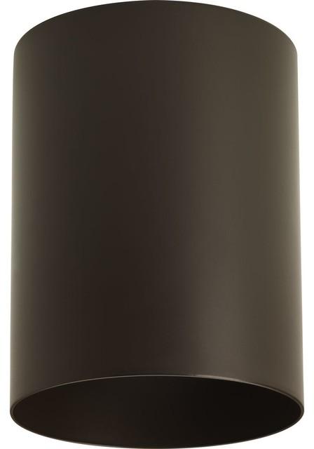 Progress Lighting 5In LED Cylinder 17W 1Ltcel, Antique Bronze