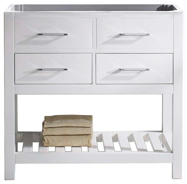 "Caroline Estate 36"" Single Bathroom Vanity Cabinet, White."