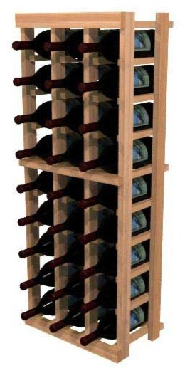 Carlotta Wine Rack, Redwood.