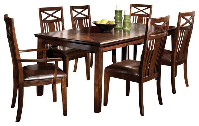 Standard Furniture Sonoma 7-Piece Leg Dining Room Set In