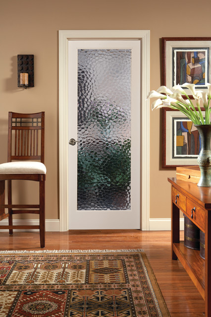 French dining room chairs - Decorative Glass Interior Doors