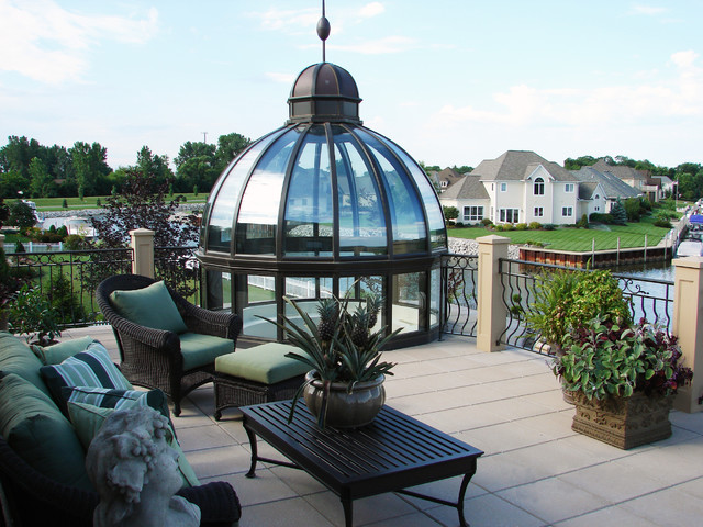 Dome skylights by solar innovations inc contemporary for Architectural skylights