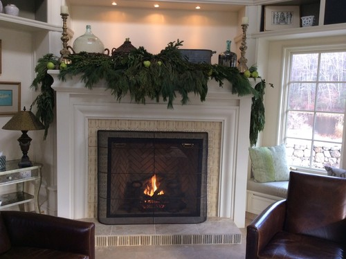 Holiday Mantle Ideas