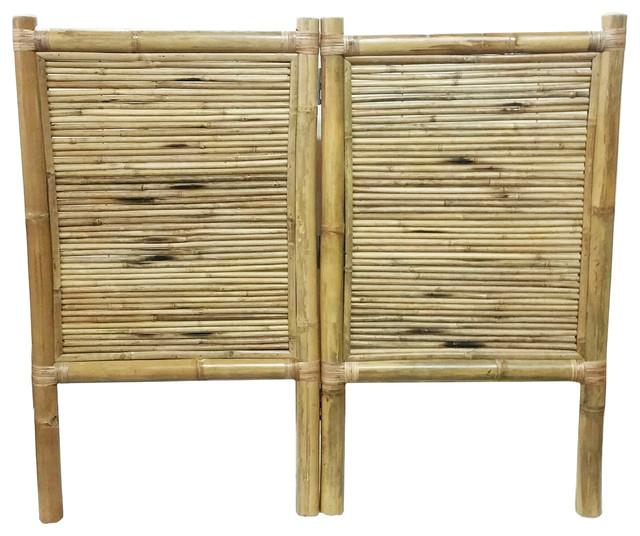 Abner Bamboo Headboard, Queen.
