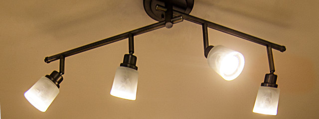 LED Kitchen Track Lighting Fixture - Traditional - Kitchen - St ...