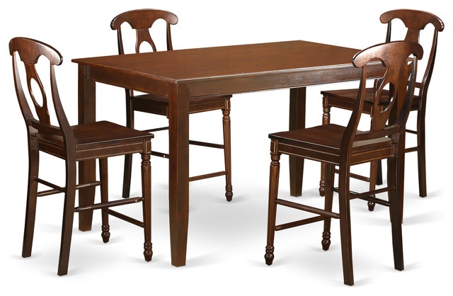 angela counter height dining table set indoor pub and bistro sets