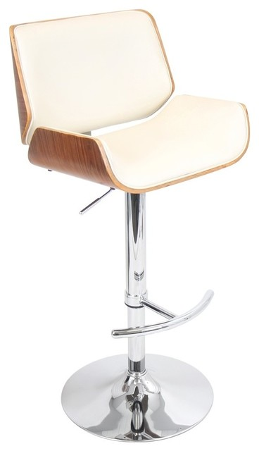 Lumisource Lumisource Santi Bar Stool Cherry Brown