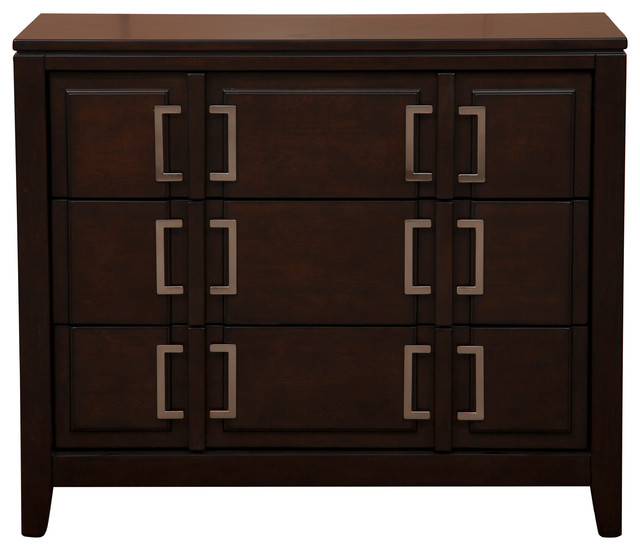 Canaday Cabinet - Contemporary - Accent Chests And Cabinets - by Pulaski