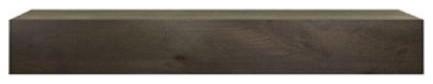 Monessen Ozark Wood Mantel Shelf, Unfinished Distressed, 72.