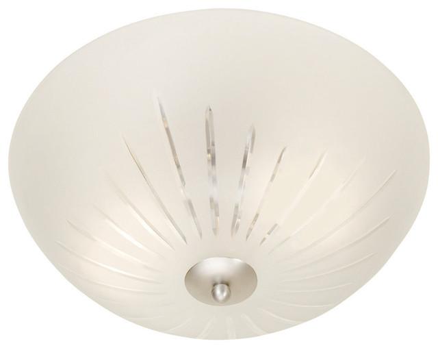 Cut Glass Flush Mount Ceiling Light Ceiling Light Ideas