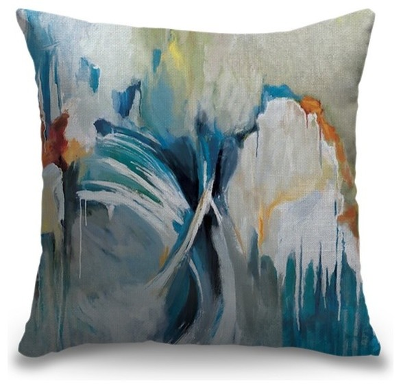 """Free Flow"" Pillow 20""x20"""